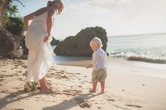 Vow Renewal At The Cliff Restaurant- Weddings By Malissa Barbados