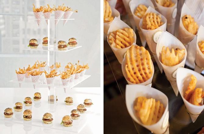 Late Night Wedding Snack Ideas