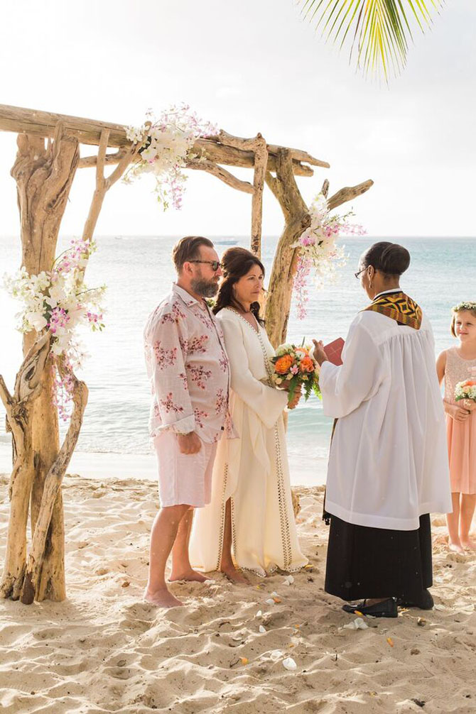 Speightstown beach wedding- Weddings By Malissa Barbados