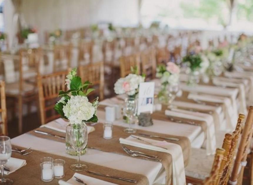 Simple Place Settings | Weddings by Malissa | Barbados Weddings