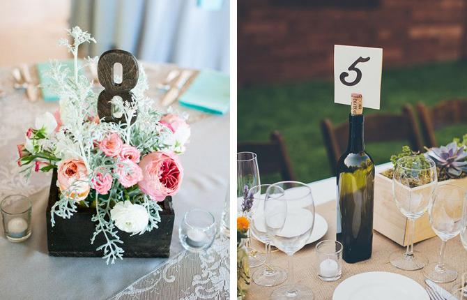 Wedding Table Number Ideas | Weddings by Malissa | Barbados Weddings
