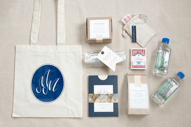 Wedding Gift Bag Ideas For Your Guests: Wedding Welcome Bags